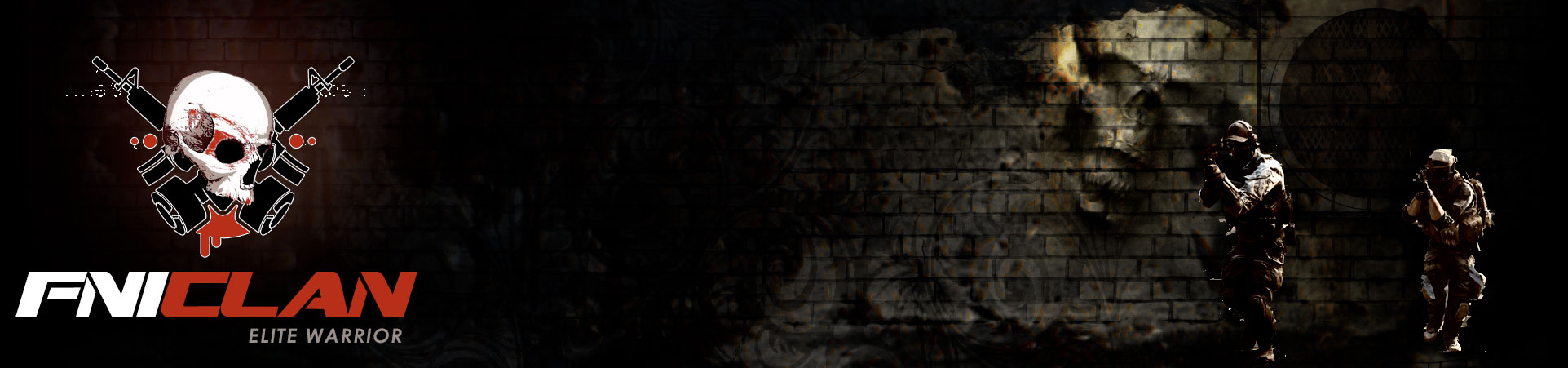 Clan Battlefield 1•2•3•4 Logo